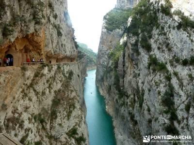 Montfalcó,Mont-rebei-Noguera Ribagorzana-Semana Santa; puente del pilar fin de año